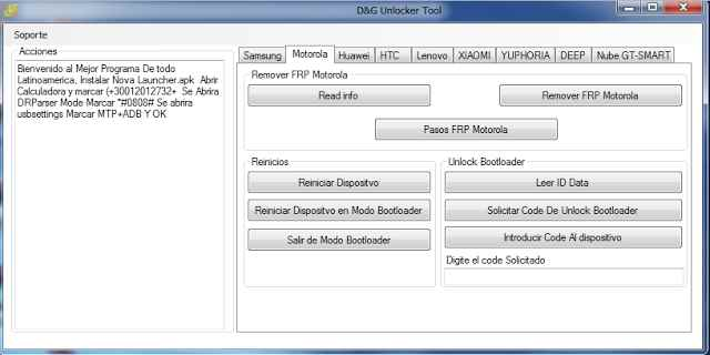D&G Unlocker Tool All FRP Bypass Free Download