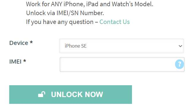 Official Factory Unlock iPhone Services