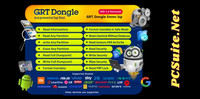 GRT Dongle EMMC Tool