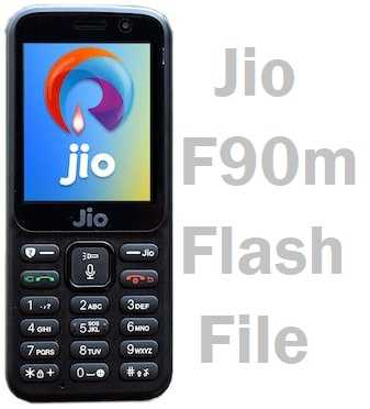 Jio F90m Flash File Firmware