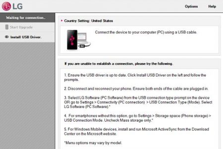 LG Mobile Support Tool For Windows Free Download