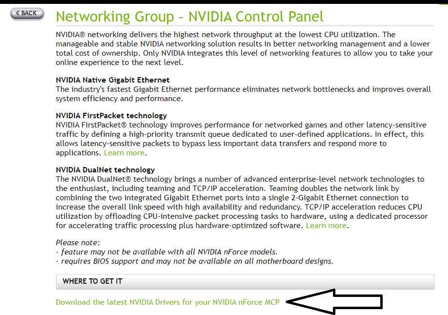 Download Latest Nvidia Drivers for your Nvidia Nforce MCP