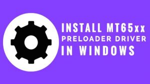 Download MTK65xx Preloader driver