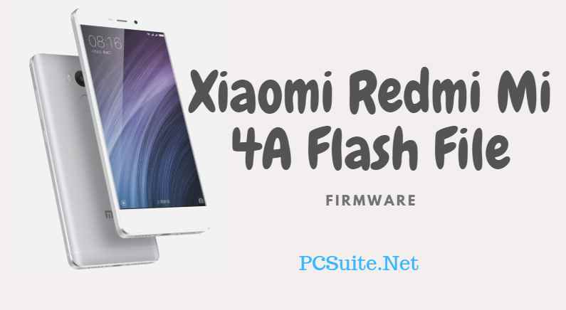 Redmi Mi 4A Flash File
