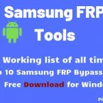 Top 10 Working Samsung FRP Tools in 2020