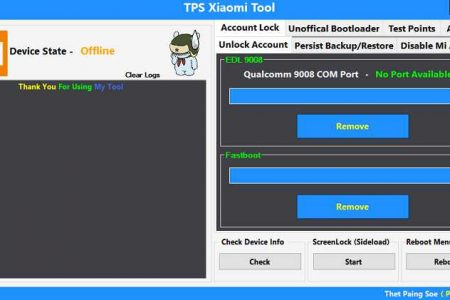 TPS Xiaomi Tool v1.0 Free Download