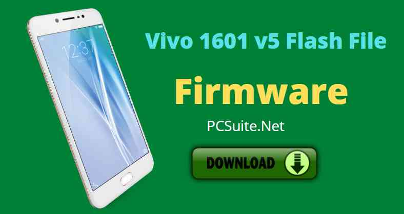 Vivo 1601 Flash File