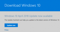 Windows 10 Update Assistant Download
